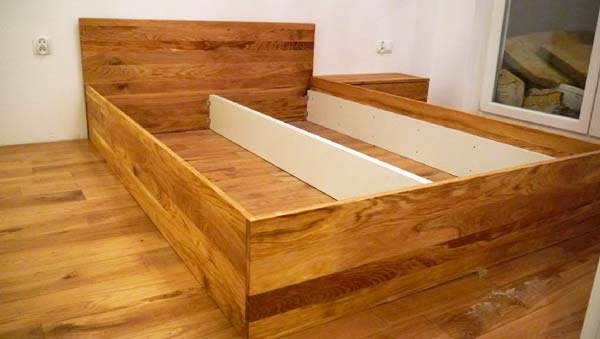 Łóżko na zamówienie
